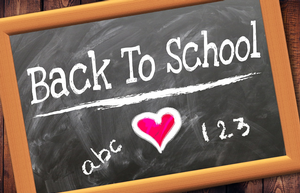 That wasn't on the list! Things you probably don't think about when children start school
