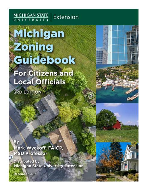 Michigan Zoning Guidebook cover