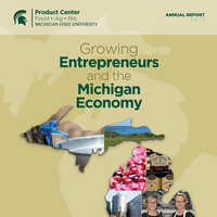 Cover 2017 MSU Product Center Annual Report