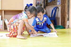 Reading to children is our No. 1 priority