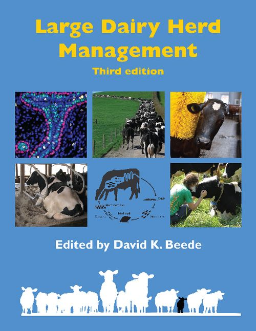 Large Dairy Herd Management book cover