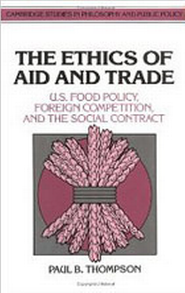 The Ethics of Aid and Trade book cover.