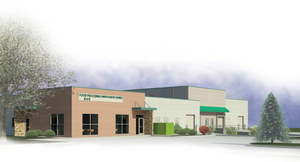 Rendering of the Food Processing and Innovation Center