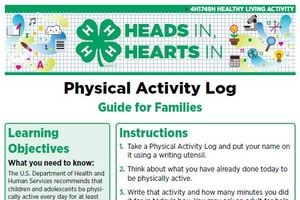 Heads In, Hearts In: Physical Activity Log