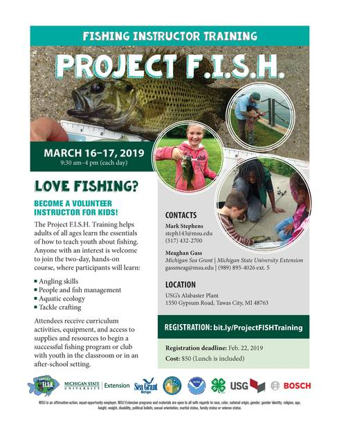 Flyer describing Project FISH training