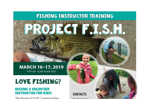 Project F.I.S.H. training opportunities connect youth to fishing
