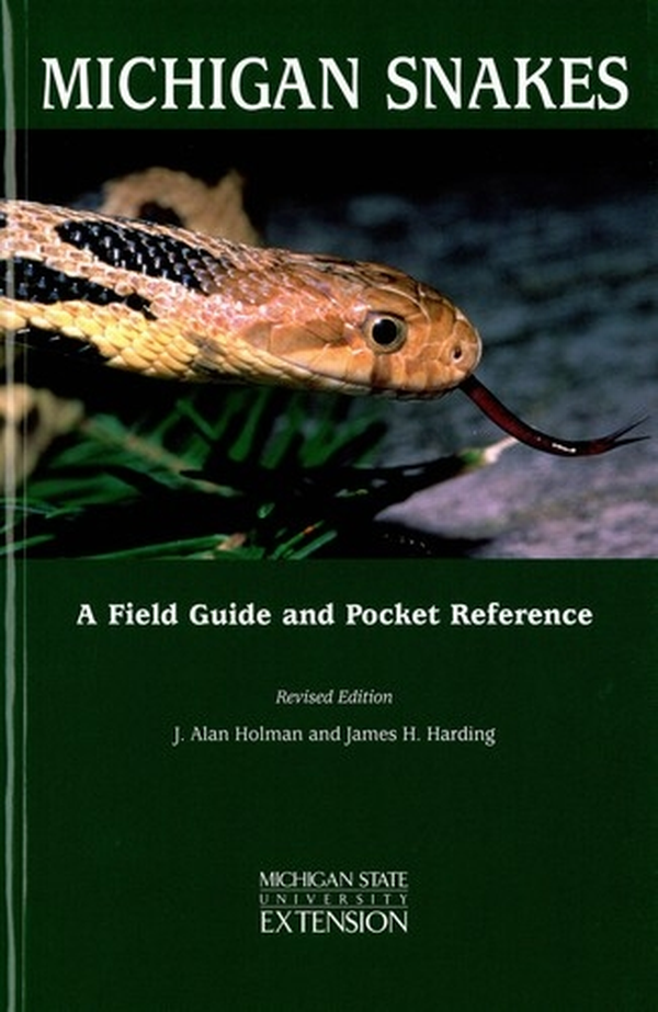 Michigan Snakes A Field Guide And Pocket Reference E2000 Msu Extension
