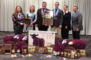 Michigan 4-H Dairy Judging Team