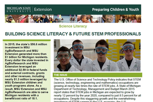 Building Science Literacy and Future STEM Professionals