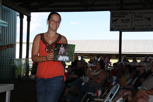MSU Extension worked with MDARD to create guidelines allowing market bird projects to be sold at fairs in an alternative way. Though birds were not permitted on site, members provided pictures of their birds for buyers to view as they cast their bids.