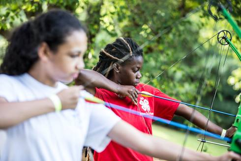 Detroit youth are learning archery.