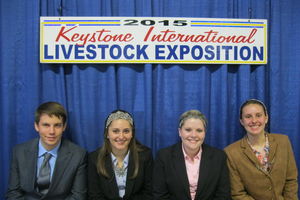 4-H youth gain industry knowledge and life skills at national livestock judging contest