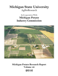 2016 Michigan Potato Research Report
