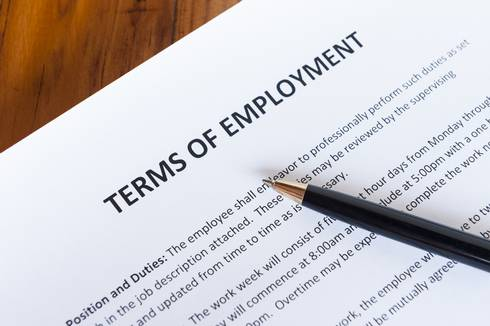 Term of employment contract