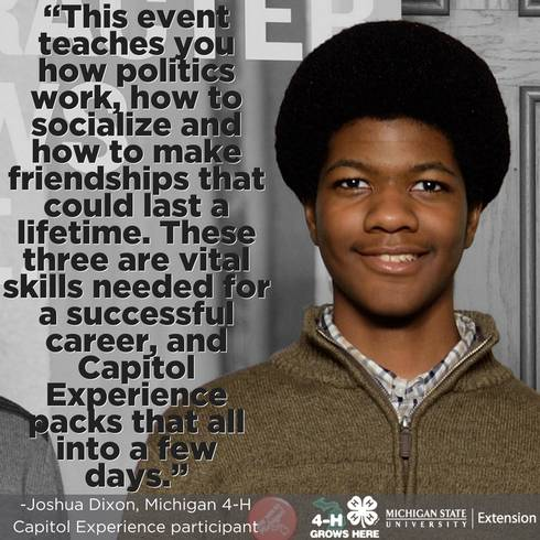 Quote from 4-H participant