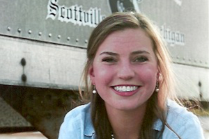 Leta Larsen awarded $5,000 Russel Erickson Scholarship by the Michigan Dairy Memorial and Scholarship Foundation