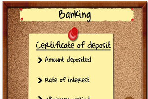 What to consider when you are considering certificates of deposits