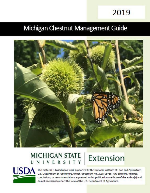 Cover of Michigan Chestnut guide