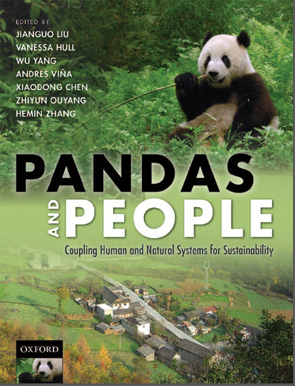Pandas and People book cover