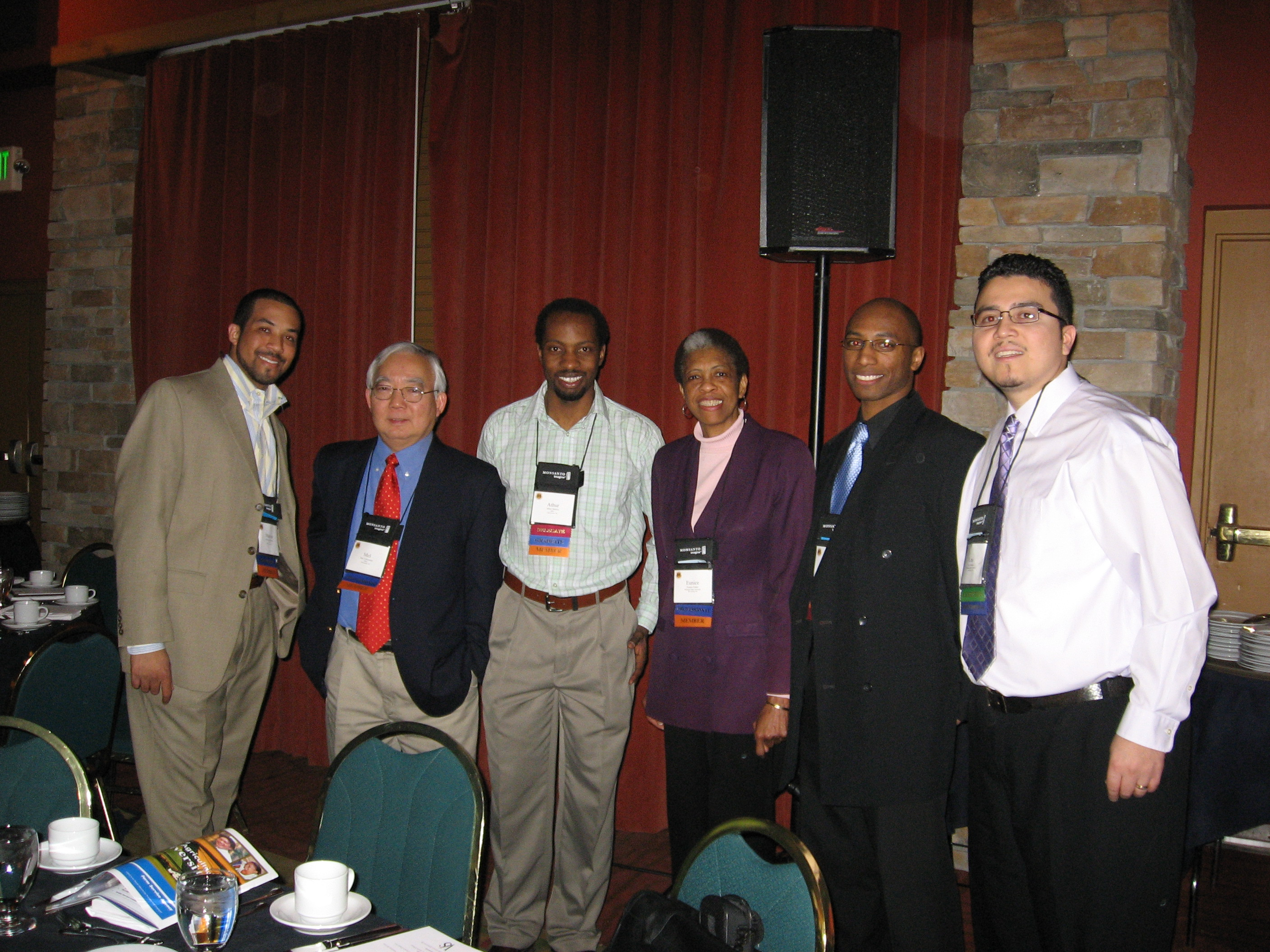 MANRRS group at conference