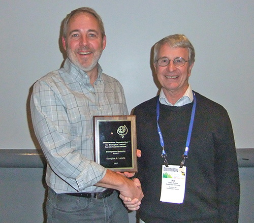 Doug Landis receives award