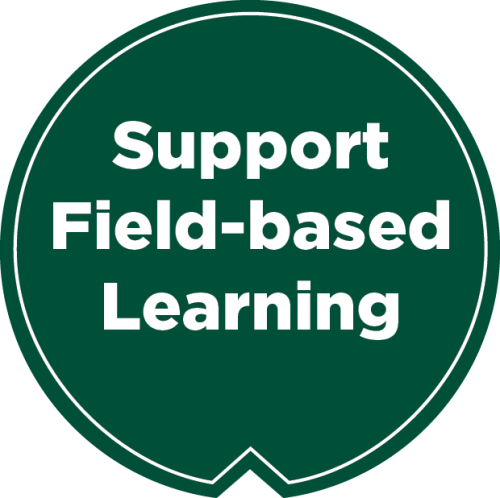 support field-based learning