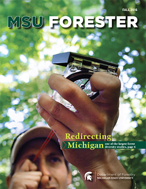 MSU Forester Cover Fall 2016