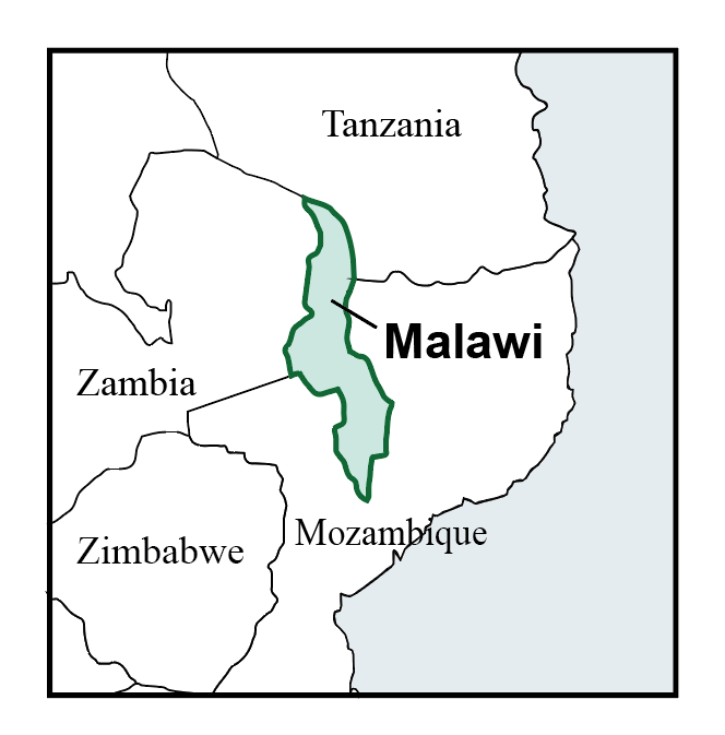 map of malawi pic