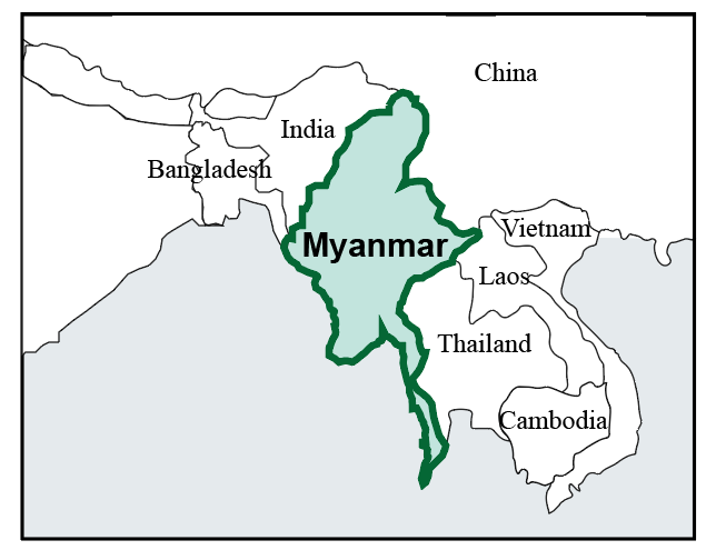 map of myanmar pic 2