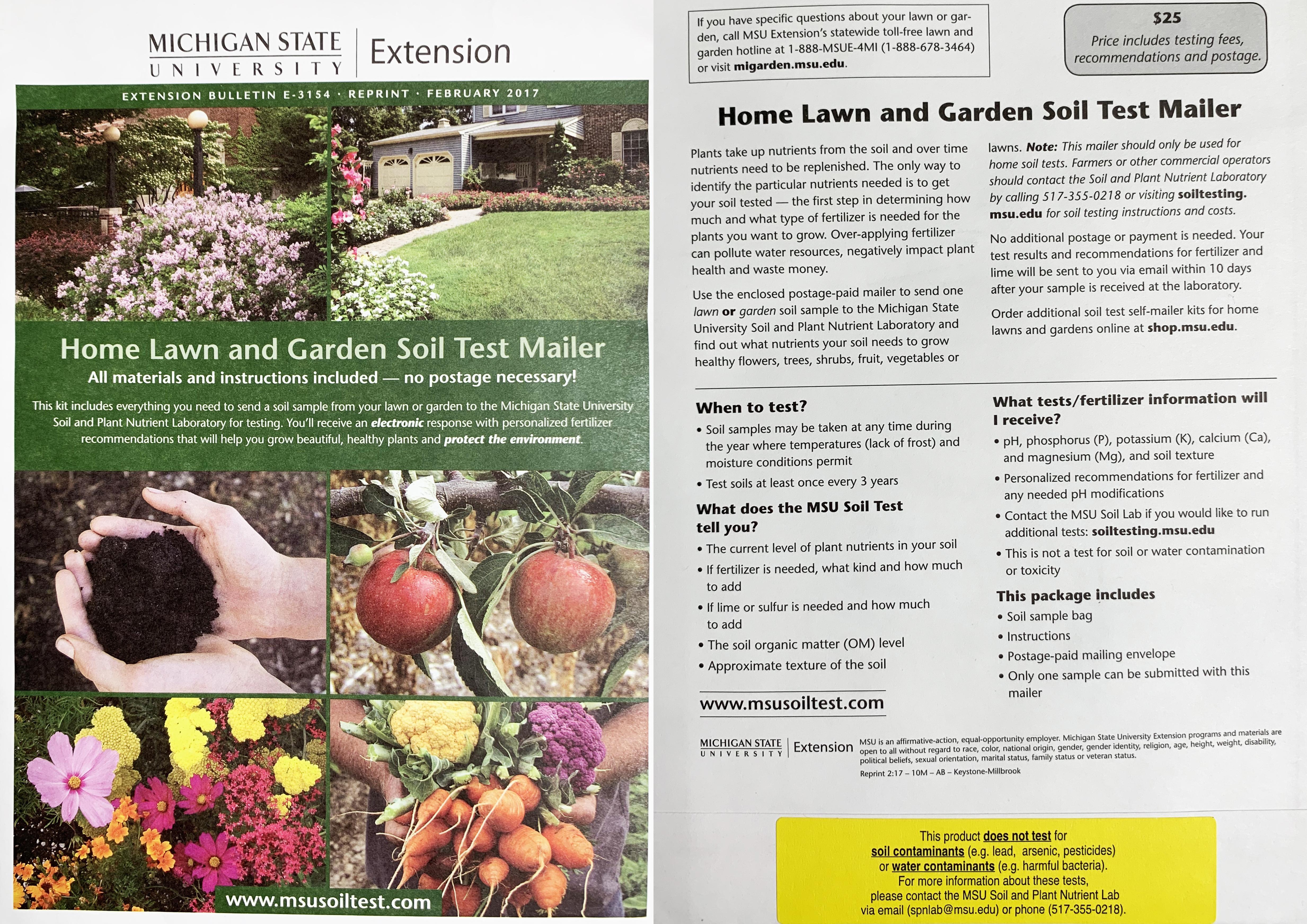 Soil Testing - Gardening in Michigan