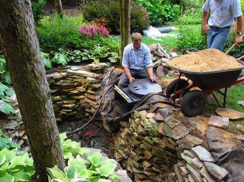 building a water feature