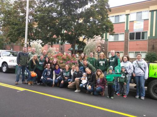 MSU Student Horticulture Association at 2015 Homecoming Parade