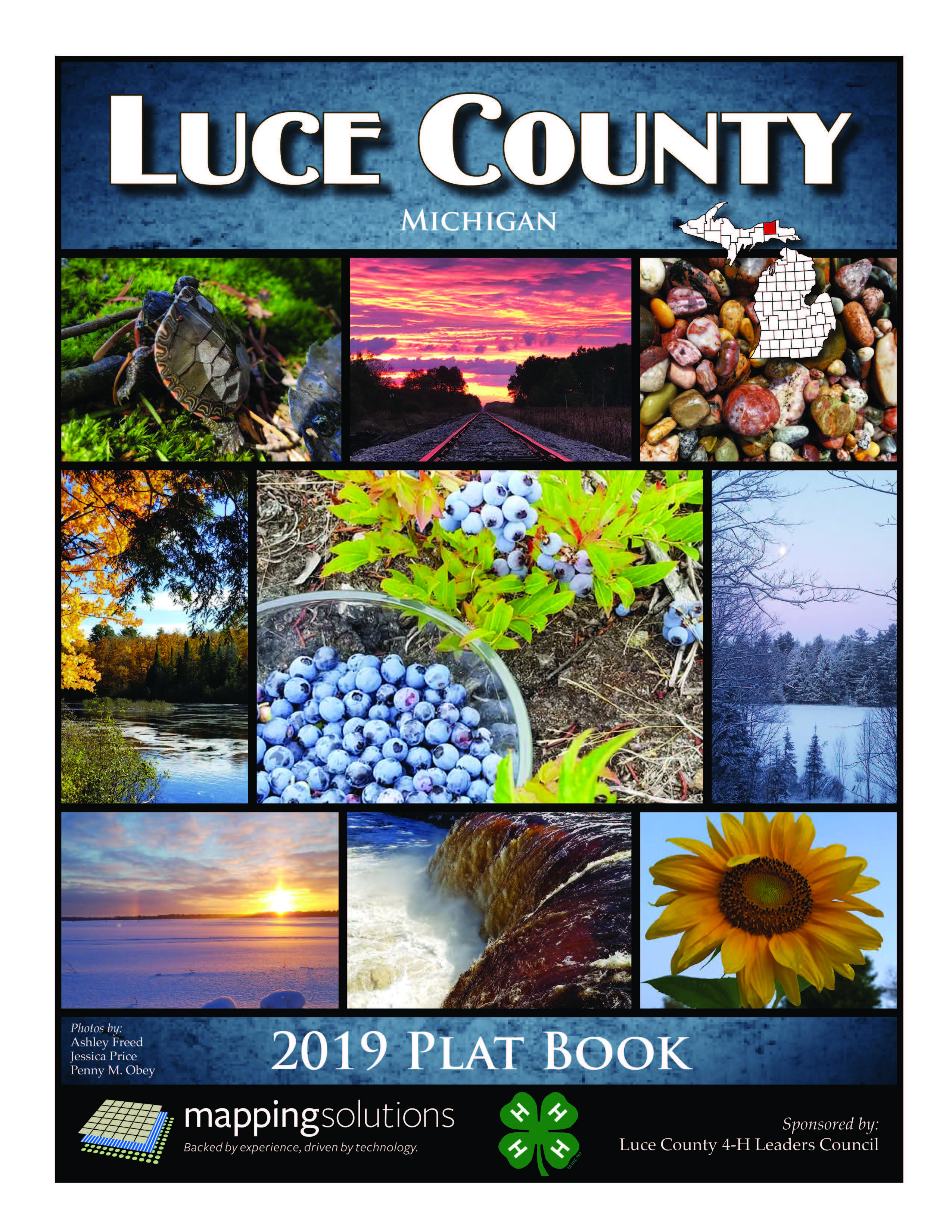 2016_Luce_County_Plat_Book_Cover
