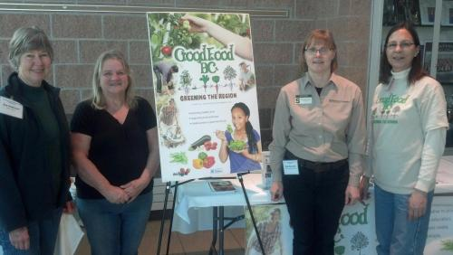 Good Food BC members at the 2013 Michigan Food and Farming Systems conference.