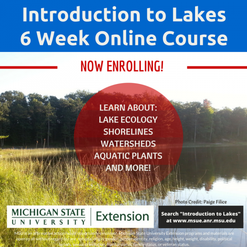 Announcing Introduction to Lakes online course