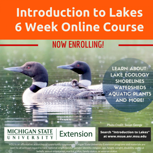 Introduction to Lakes online course now enrolling