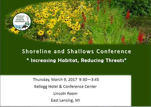 2017 Shoreline and Shallows Conference