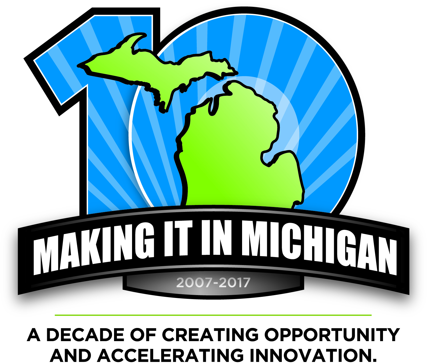 Making It In Michigan 10 year graphic