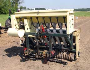 Plant seed drill