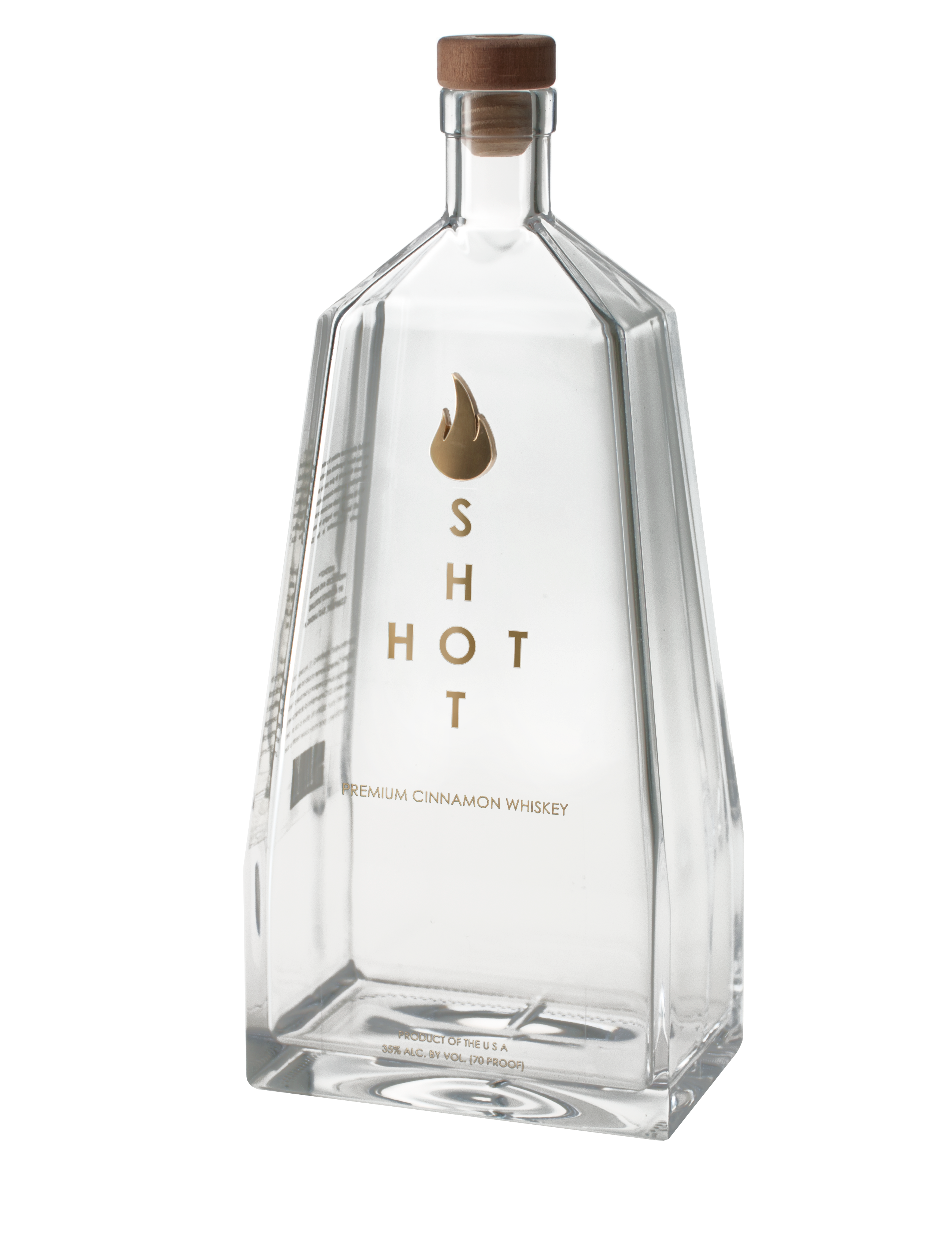 HotShot Bottle Label side