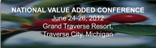 2012 National Value Added Conference