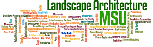 careers in landscape architecture | school of planning, design and