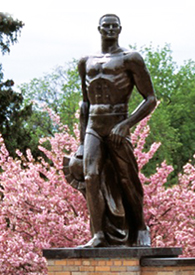 Photo of Spartan Statue
