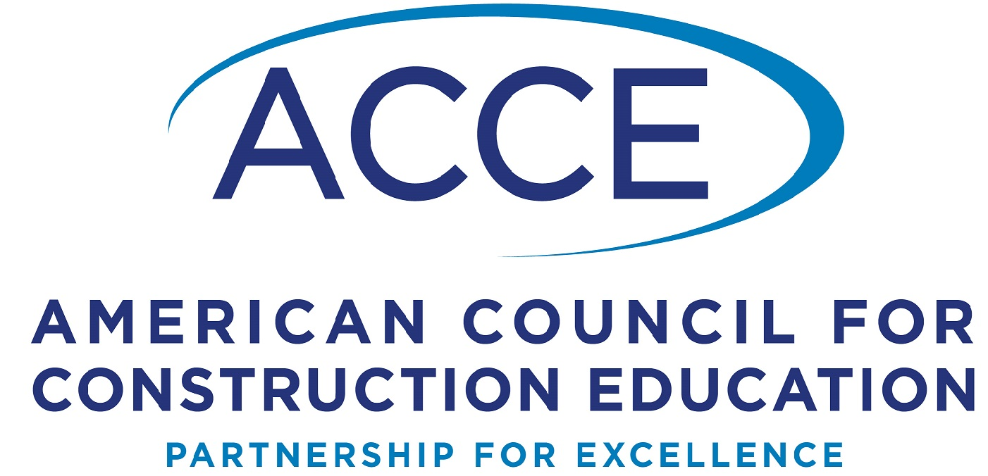 American Council for Construction Education logo.