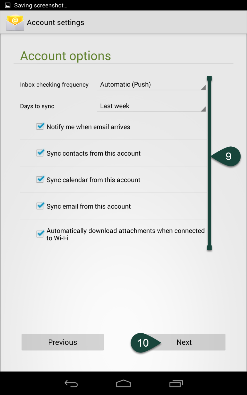 Configuring Email on Android Devices (Office 365) - ANR