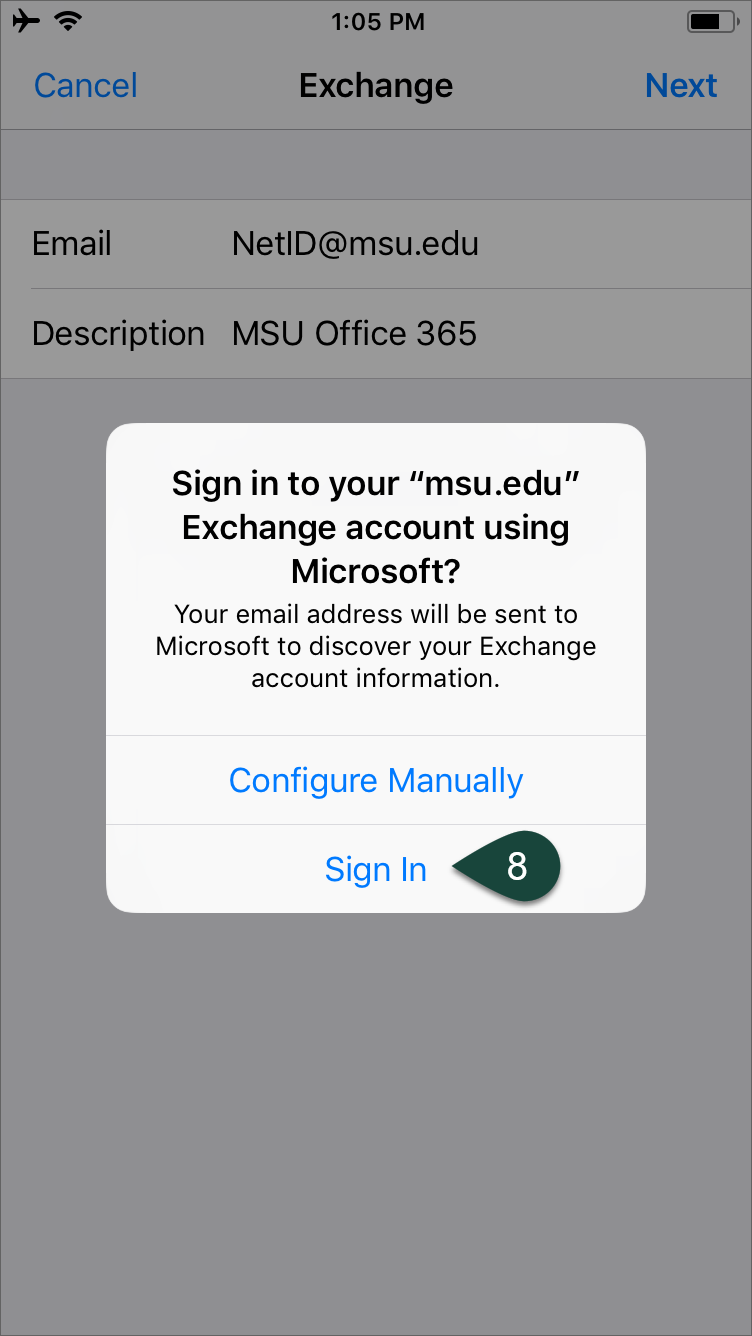 Configuring Email on Apple Devices (Office 365) - ANR