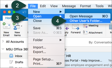 Adding a Shared Mailbox in Outlook for Mac - ANR Technology
