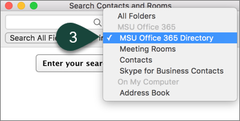 Searching the Global Address Book in Outlook for Mac - ANR