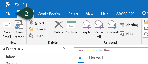 office 365 outlook download shared folders