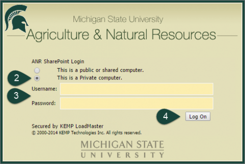 sharepoint login